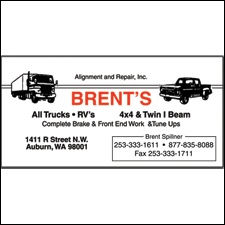 Brent's Alignment and Repair